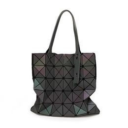 $enCountryForm.capitalKeyWord Canada - 2018 New Women Handbag as Female Folded Geometric Plaid Bag Fashion Casual Tote Women Handbag Mochila Shoulder Bags