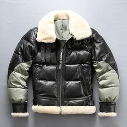 8418b7bd0 Avirex leAther flight jAckets online shopping - AVIREX splice down jackets  USA B3 air force flight