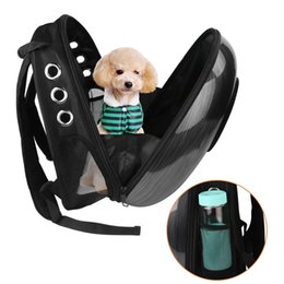 Puppy Bag Carrier NZ - Pet Dog Cat Space Carriers Bags Pet Carrying Backpack Window Puppy Small Cat Dog Carrier transport Outdoor Travel Bag Shoulder