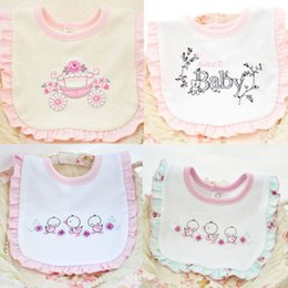 Hot Pink Cotton Scarf NZ - Cute Animal Burp Cloths Toddler Baby Bibs Boy Girl Saliva Towel Kids Bib Feeding Cover Scarf Newborn Pink Cotton Soft Bibs Hot