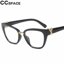 681fb410d5db0 rhinestone eyeglass frames 2019 - 2018 Luxury Rhinestone Glasses Frames  Women Cat Eye Eyeglasses Accessories Designer
