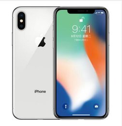 Wholesale Original Unlocked Apple iPhone X G LTE cell phone MP G RAM G G ROM Face ID Cellphone free DHL