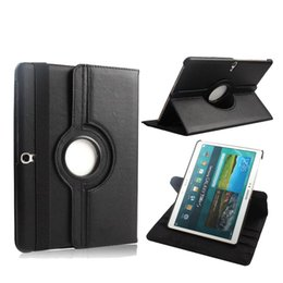 $enCountryForm.capitalKeyWord Canada - 360 Rotating PU leather Case Cover For Samsung Galaxy Tab S 10.5 inch T800 T805 Tablet Case Smart Stand + Pen