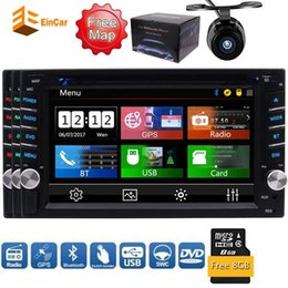 remote control car stereo Australia - 6.2''Monitor Double DIN in Dash Car FM AM Dvd Player Stereo Bluetooth USB Sd Radio 2DIN Car dvd Backup Camera Remote Control