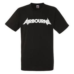 $enCountryForm.capitalKeyWord Australia - Airbourne Logo Black New T-Shirt Rock Band Shirt Heavy Metal Tee Tee Shirt Men Boy Designed Short Sleeve Cotton Custom Vincent Van Goah