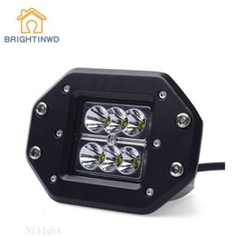 Refitted vehicle online shopping - 18w Working Light Off road Vehicle Refitted with Led Front Square Overhauling Lamp Car Herdsman Installed Vehicle
