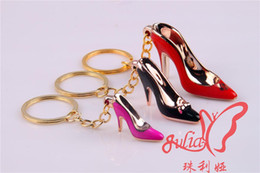 $enCountryForm.capitalKeyWord NZ - The new 2017 key acrylic UV ornament sculpture high heels DIY mobile phone's accessories bag mail