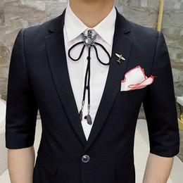 Dark Blue Suits Australia - (Jacket+Pant ) XS-3XL 2018 Summer Suit Fashion Short Sleeve Royal Blue Green Black Dark Grey Wedding Party Suits Groom Men Suits