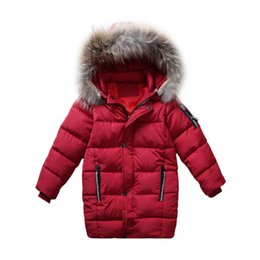 Discount teenage fashion hoodies - 4- 14 yrs teenage boys winter thick warm long coats kids casual hoodie outfit 2018 fashion autumn boys clothes school st