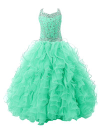 $enCountryForm.capitalKeyWord UK - 2018 Little Girls Pageant Dresses Ball Gown Long Kids Birthday Party Gowns