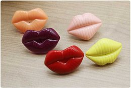 Dummy Baby Lip NZ - New Baby Pacifier Red Kiss Lips Dummy Pacifiers Funny Silicone Baby Nipples Teether Soothers Pacifier Baby Dental Care