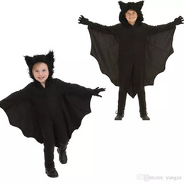 Costumes For Teenage Boys Australia - Halloween Animal Cospaly Kids Black Bat V&ire Costumes for Children  sc 1 st  DHgate.com & Costumes For Teenage Boys Australia | New Featured Costumes For ...