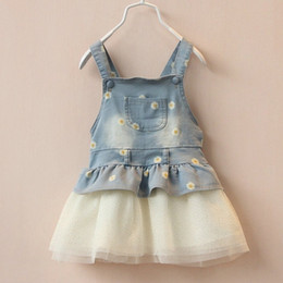 $enCountryForm.capitalKeyWord UK - 6m-4T Summer Baby Girls Clothes Kids Overalls Bib Tutu Skirt Denim Jeans Dress Kawaii Princess Outwear Toddlers Shorts Clothing