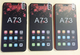 phone tri sim 2019 - 5.72Inch A73 Cell Phone 512MB Ram 4G Rom Smartphone 2MP GPS Ship by tnt post
