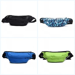 Pu bag material online shopping - Fashion Casual Shoulder Bag Fashion Printing Outdoor Riding Colorful Creative Waist Bags Oxford Pu Material Pocket Multi Function gb jj