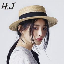 $enCountryForm.capitalKeyWord NZ - Sun Hat 100% Wheat Straw Summer Women Wide Brim Boater Beach Sun hat S18101708