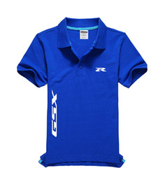 Discount custom shirts for men - Custom SUZUKI logo shirt design customized high quality uniform for company logo work wear
