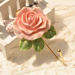 $enCountryForm.capitalKeyWord Canada - 1 Rose Self Adhesive Stick On Door Wall Mounted Tile Towel Hanger Hook Bathroom hot