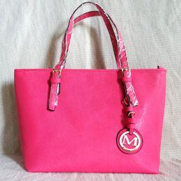 ladies big hand bags 2018 - Women's Leather Handbags Luxury Brand Lady Hand Bags With Purse Pocket Women Shoulder bag Big Tote cheap ladies big