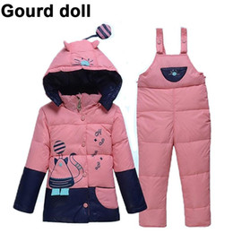 $enCountryForm.capitalKeyWord Australia - New Baby Infant Boy Girl Warm Winter Coverall Snowsuit Outerwear Coats Kid Romper Down Parkas Jacket Clothing Sets 6-24 month