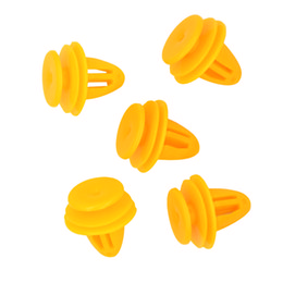 $enCountryForm.capitalKeyWord UK - free shipping 50PCS D23 9.2mm Hole Car Fastener Nylon Push Type Shield Retainers Rivets Interior Trim Panel Clips for Toyota