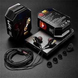 $enCountryForm.capitalKeyWord Australia - QKZ CK8 HiFi Wired Earphone Dual-Dynamic Flexible Cable with Microphone fone de ouvido Quad-core Speaker 3.5mm In-ear earbuds