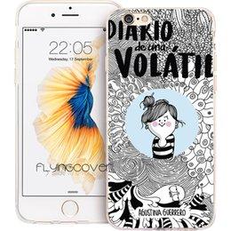 Funda Jump La Volatil Shell Cases For IPhone 10 X 7 8 6S 6 Plus 5S