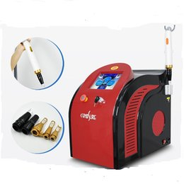 Wholesale Tattoo Removal NZ - 2018 Newest!!! 1064nm755nm 532nmbest price laser tattoo eyebrow line removal portable face whiten beauty device
