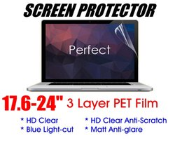 Japanese screen protector online shopping - 17 quot Japanese PET Screen Protector Clear Anti scratch Anti Glare matt for LCD Monitor Laptop Tablet PC iPad cellphone package available