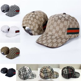 Wholesale Men Women Baseball Cap Famous Brand Sun Hat Teenager Outdoor Sports Casual Adjustable Hats For Factory New Caps B175