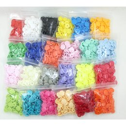$enCountryForm.capitalKeyWord NZ - 100 Sets KAM T5 12MM Round Plastic Snaps Button Fasteners Quilt Cover Sheet Button Garment Accessories For Baby Clothes Clips