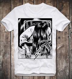 $enCountryForm.capitalKeyWord Canada - T SHIRT SADAKO YAMAMURA THE RING HORROR CULT MOVIE JAPAN ANIME MANGA JAPANESE Men's Clothing T-Shirts Tees Men cheap
