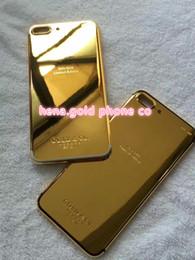 $enCountryForm.capitalKeyWord Australia - 2018 gold diamond ! Luxury Brand Crystal Phone Case for IPhone X 7 Plus Shockproof Back Housing Cover Bling Bling Style Apple 7 7 plus