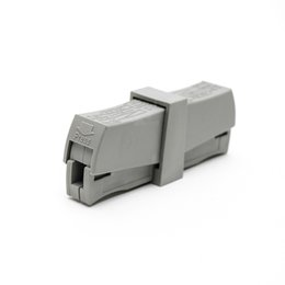 wire clamp connector NZ - 50PCS PCT-201 224-201 wire wiring connector Universal 1 Way Spring quick Connector cable clamp Terminal Block