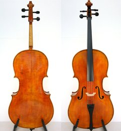 2018 ebony models Master Hand Made 3 4 Cello Beautiful Sound Stradivari Model For Advanced discount ebony models