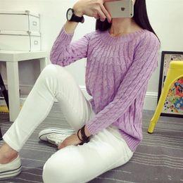 b7e691b0f88d Hot Sale Autumn Winter O Neck Thin Sweaters Long Sleeve Tops For Women 2018  Criss Cross Patterns Jumper Ladies fs5685