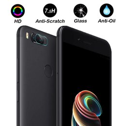 China 2 PCS Clear Camera Lens Protector Protection Film For xiaomi Mi 5x xiaomi A1 Tempered Glass Back Cover For xiaomi Mi 5x Film supplier camera protection cover suppliers