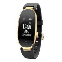 $enCountryForm.capitalKeyWord NZ - S3 Bluetooth Smart Watch Fashion Women Ladies Heart Rate Monitor Wristwatch Fitness Tracker Waterproof Smart watch for Women