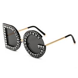 2802c61577f 2019 new diamond Sunglasses ladies fashion design trend glasses spectacle  frames NQDG