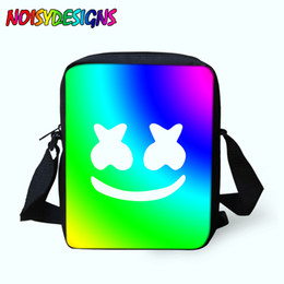 mens mini messenger bag 2019 - Messenger Bags Marshmello School bag for Men Male Crossbody Bags Kids Boys Girls Mini Shoulder Bag Mens Women Cross Body