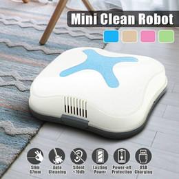 $enCountryForm.capitalKeyWord Australia - Household Portable Mini Clean Robot Intelligent Automatic Iinduction Room Cleaner Hair Fiber Dust Sweeper Smart Home Electronic