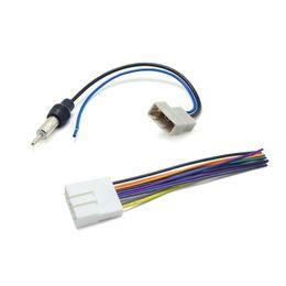 $enCountryForm.capitalKeyWord UK - Car CD Audio Stereo Wiring Harness Antenna Adapter For Nissan Subaru Infiniti Install Aftermarket CD DVD Stereo SKU#:1647
