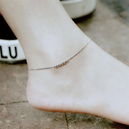 $enCountryForm.capitalKeyWord Australia - Red Trees Brand Summer Fine Jewelry 925 Sterling Silver Anklet For Women   Girls Gift Fashion Simple Ankle Bracelet Silver