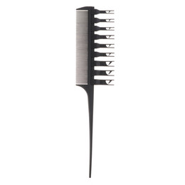 Salon Hair Combs Australia - 1Pcs Pro Beauty Salon Barber Dyeing Double Side Hair Highlight Comb Removable Teeth Special Antlers Comb Hair Styling Tools 1Pcs Pro Beauty
