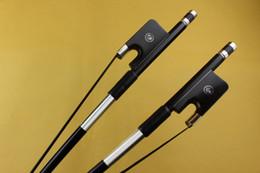 $enCountryForm.capitalKeyWord Australia - New Professional Carbon fiber 3 4 Double Bass Bow ebony frog black horse hair