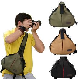 Camera Shoulder Strap Australia - Outdoor Nylon Lightweight Wide Strap Storage Shoulder Bag Pouch for DSLR Camera handbag