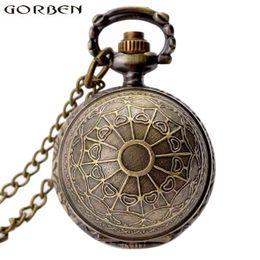 ball watches quartz 2019 - Retro Golden Snitch Harry Potter Necklace Pocket Watch Bronze Ball Shape Quartz Vintage Clock With Chain Pendant Men Wom