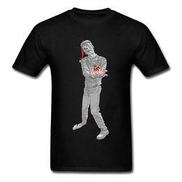 Customized T Shirts Cheap NZ - 2018 Cheap Sale Cotton Ugly Christmas Zombie Men's Horror Film Customized Mens T-Shirt Cool Tee shirts