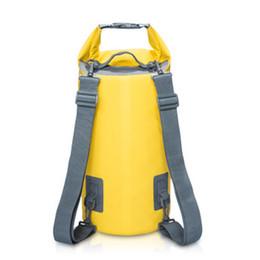 $enCountryForm.capitalKeyWord Canada - Naturehike Ultralight Swimming Bag Dry 7 Colors Outdoor Nylon Kayaking Storage Drifting Waterproof Rafting Bag 15L 20L