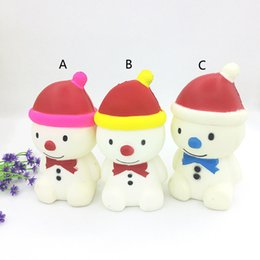 $enCountryForm.capitalKeyWord NZ - Fidget PU Christmas Snowman toys Squishy Slow rebound squishy Simulation Funny Gadget Vent Decompression toy B001